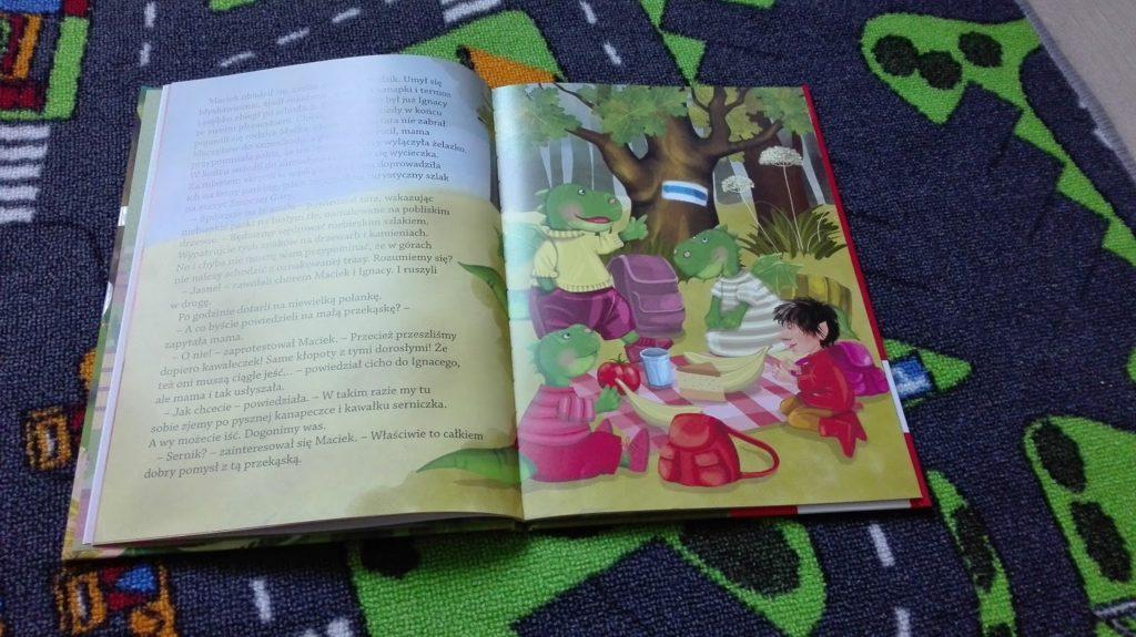 Literatura dziecięca - porywające przygody Smoka Maciusia 3