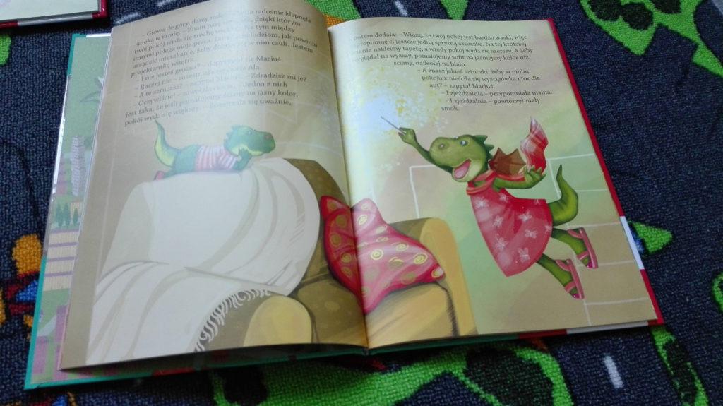 Literatura dziecięca - porywające przygody Smoka Maciusia 2
