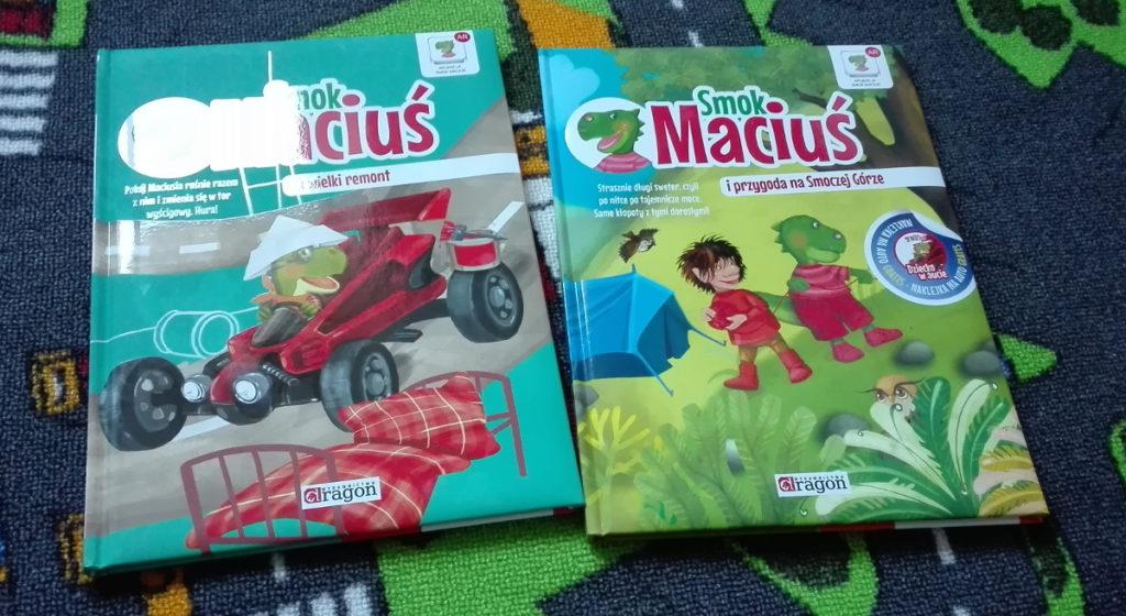 Literatura dziecięca – porywające przygody Smoka Maciusia
