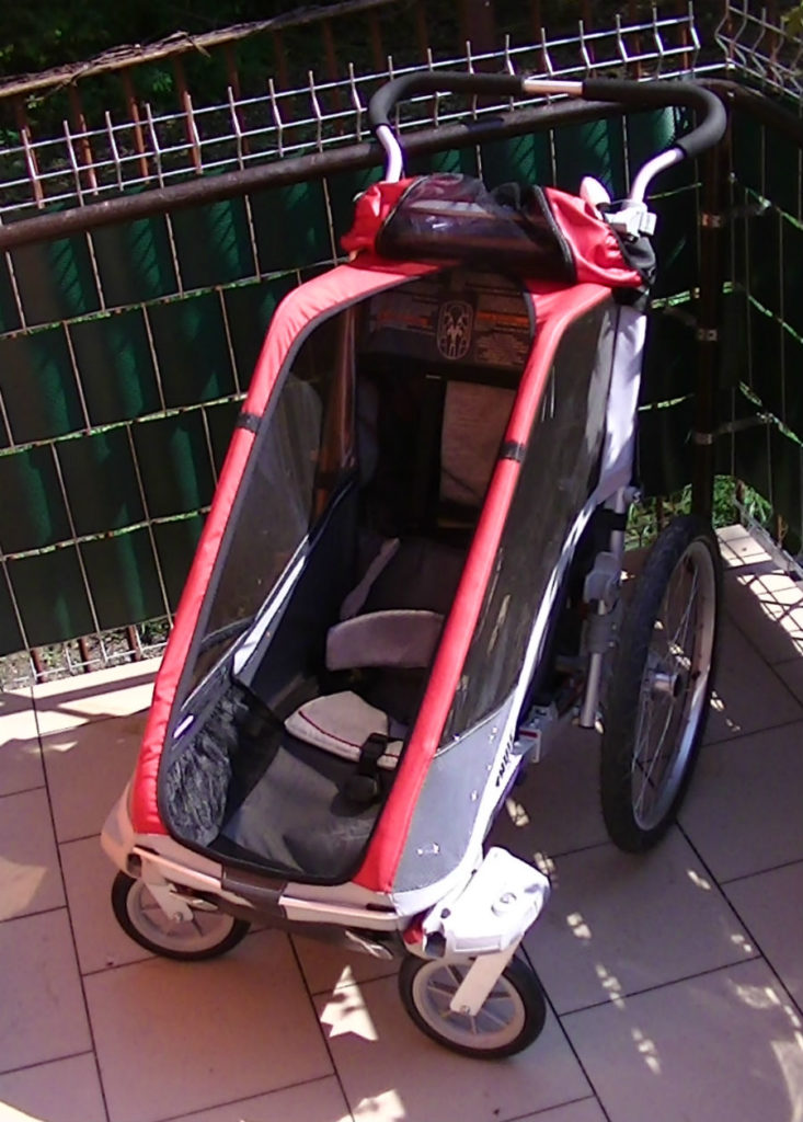 Przyczepka rowerowa Thule Chariot Cougar 3
