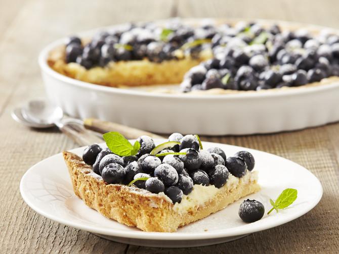 Coś dla łasuchów – tarta z borówkami!