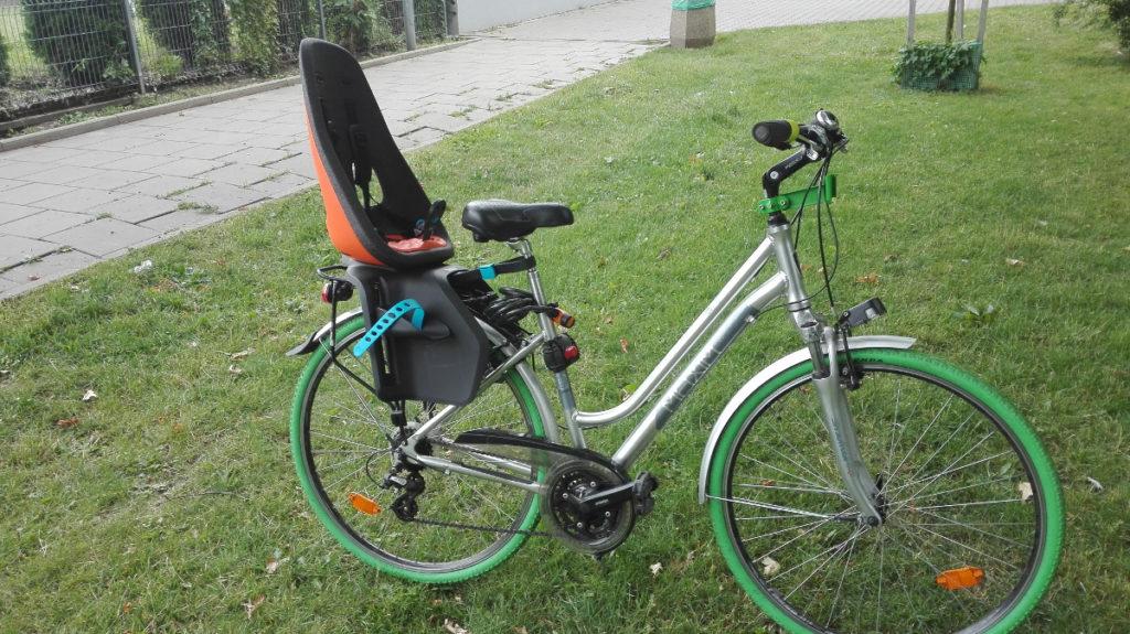 Test fotelika rowerowergo Thule Yepp Nexxt Maxi