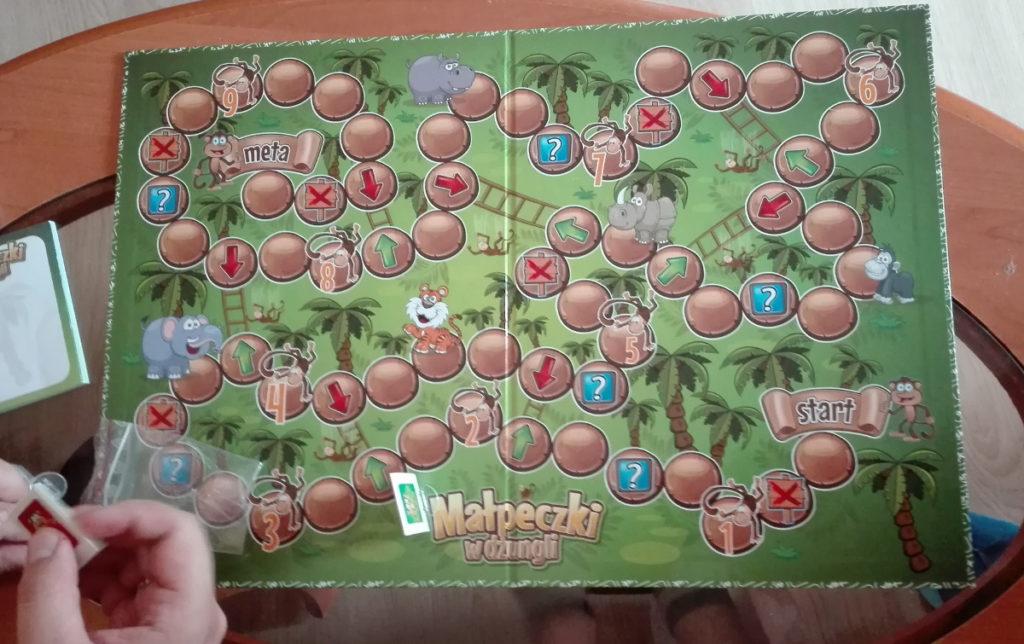 Małpeczki w  dżungli - gra dla całej rodziny 3