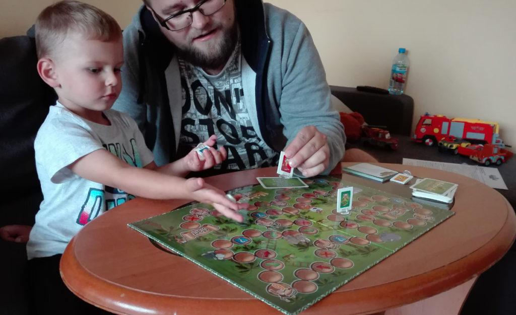 Małpeczki w  dżungli – gra dla całej rodziny