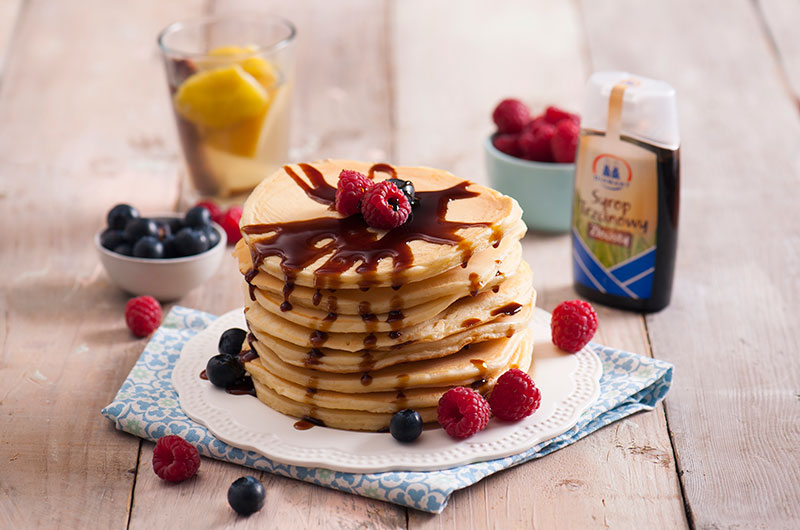 Pomysł na śniadanie: amerykańskie pancakes!