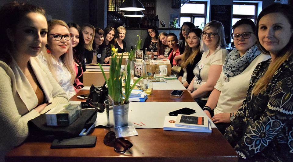 Blogerki plotkują, czyli spotkanie blogerek Miłość do pasji w Lubartowie 1