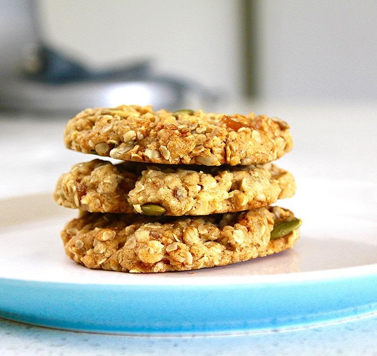 Bakaliowe ciasteczka owsiane dla małych i dużych łasuchów