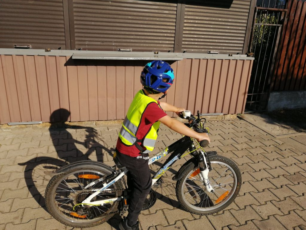 Bezpiecznie na rowerze z dzieckiem