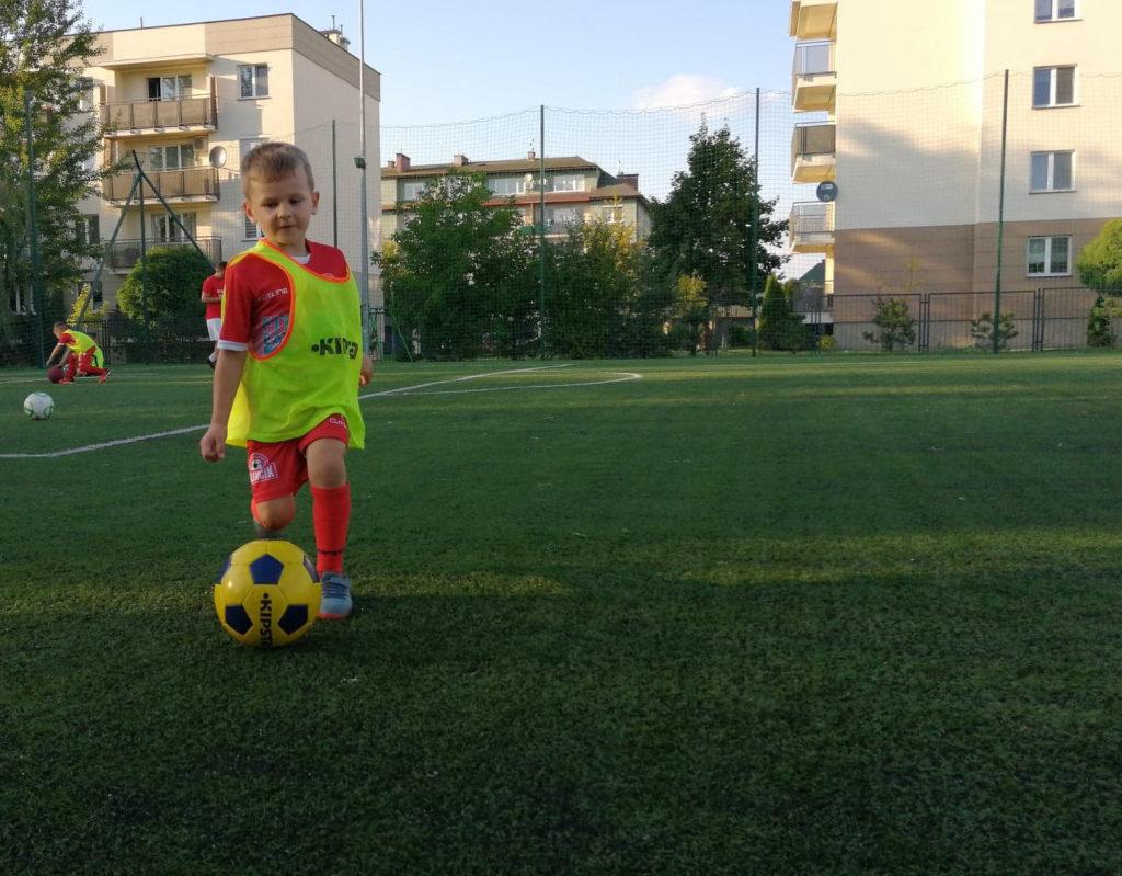 wspieranie małego sportowca