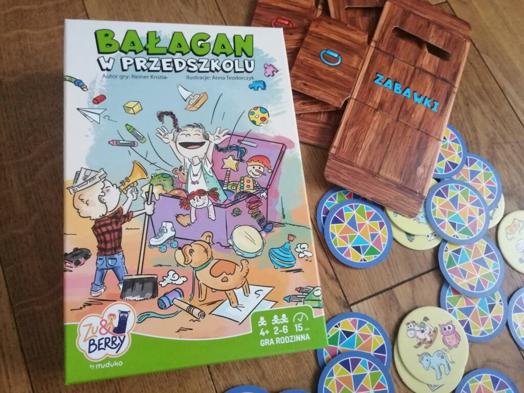 Bałagan w przedszkolu – gra od Zu&Berry
