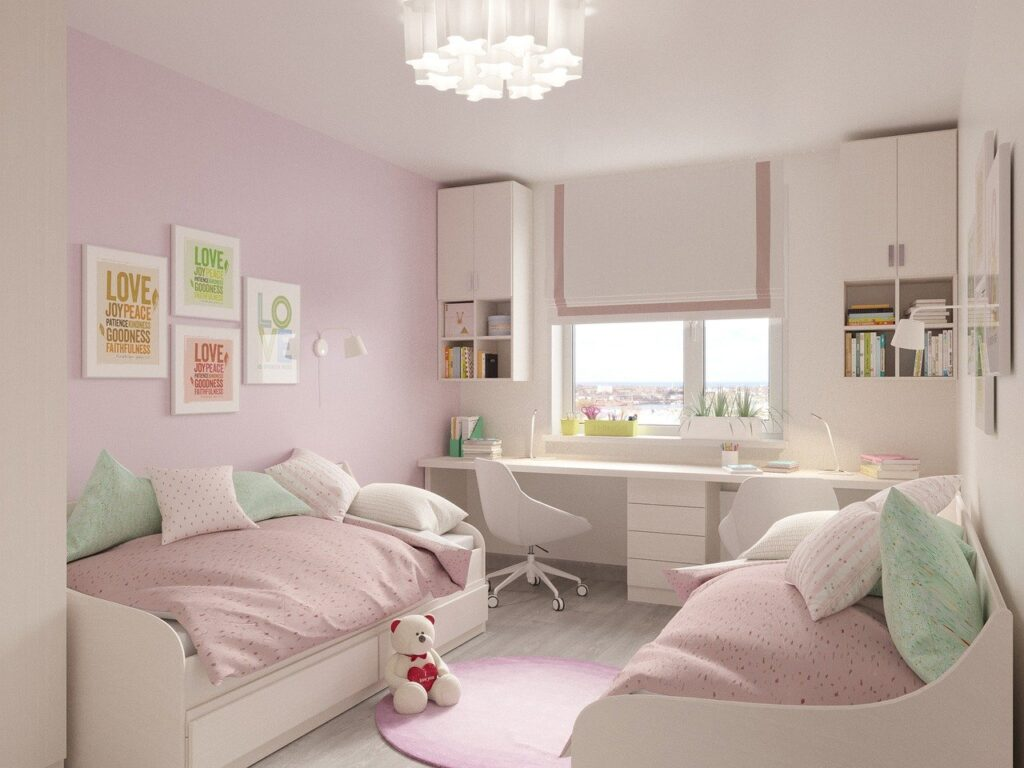 Mały pokój dla rodzeństwa – jakie łóżko?