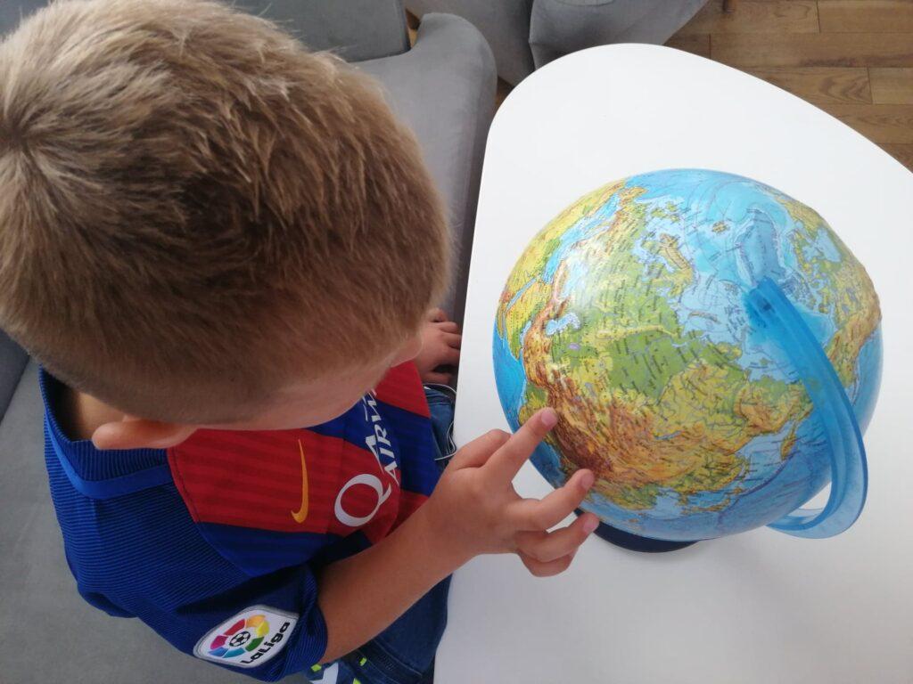 Interaktywny globus IQ Globe od Dante